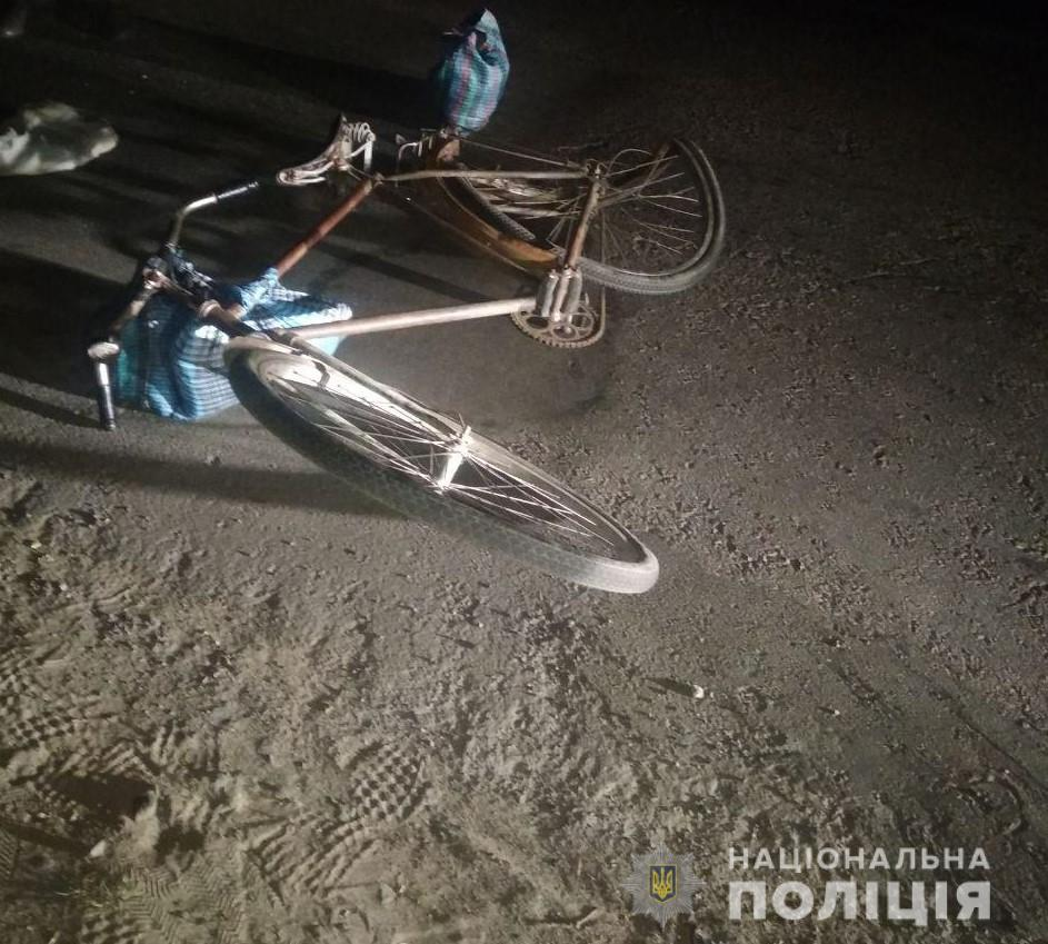 У Березному районі збили велосипедиста