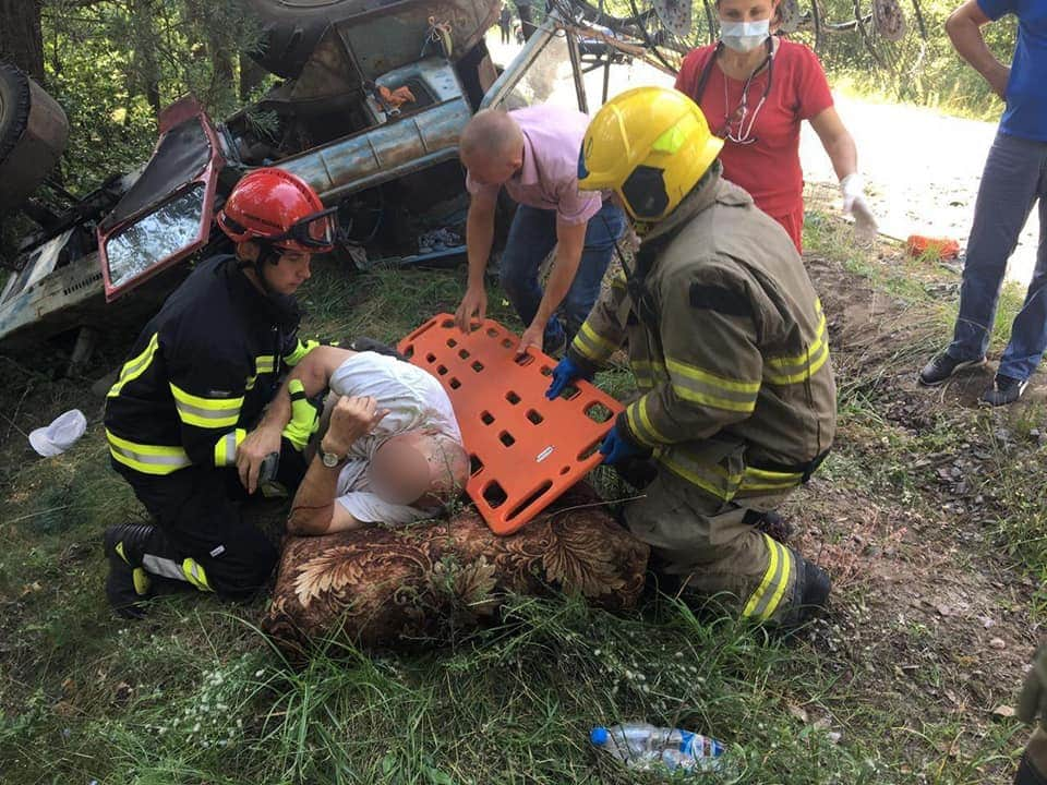 На Сарненщині у ДТП травмувався тракторист