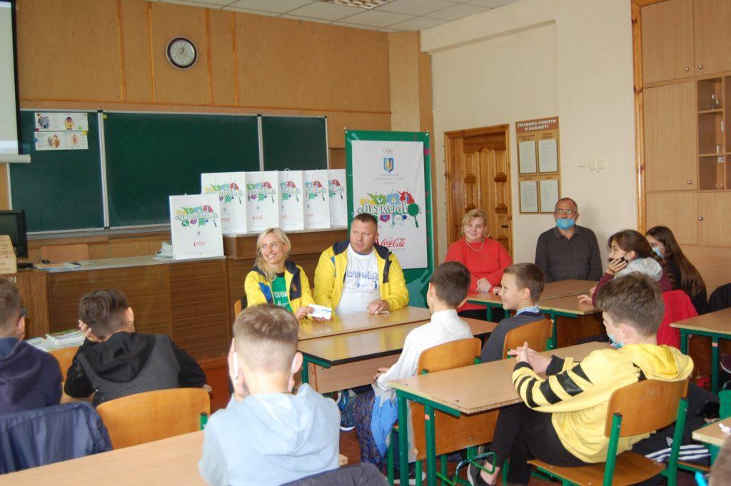 Проект #OlympicLab завітав до Рівненського НВК «Колегіуму» (ФОТО)