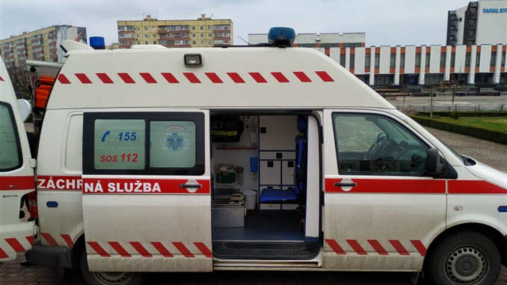Посол республіки Словаччина подарував Варашу сучасний реанімобіль