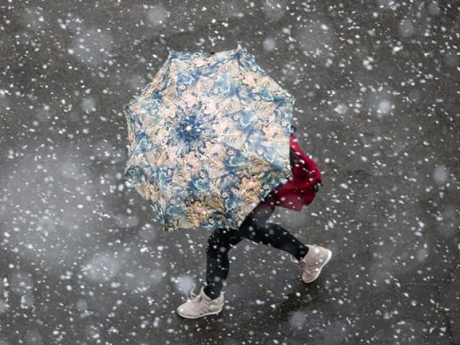 Мокрий сніг прогнозують синоптики на Рівненщині