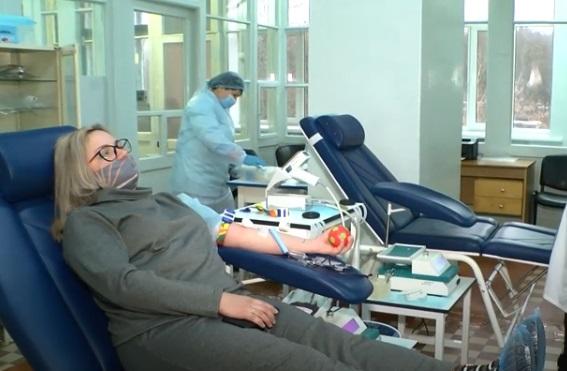 Рівненському обласному центру служби крові потрібні донори (ВІДЕО)