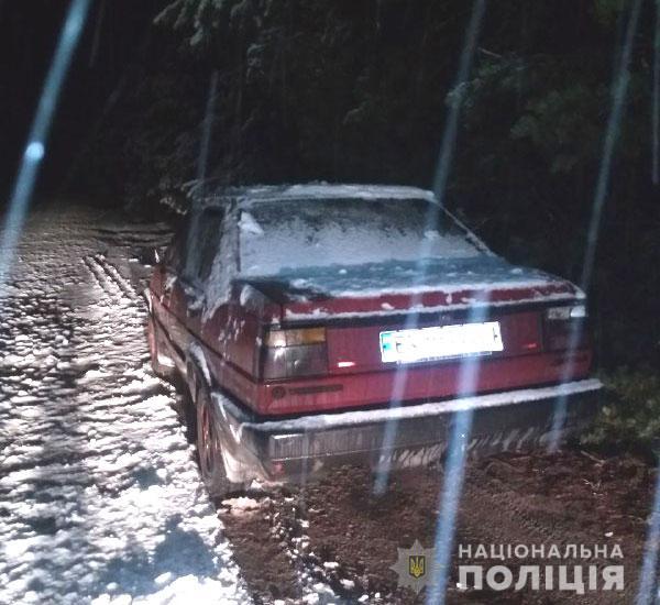 На Сарненщині п'яний водій пропонував поліцейським хабар