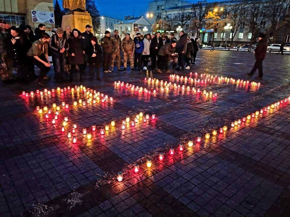 У Рівному вшанували пам'ять полеглих захисників Донецького аеропорту
