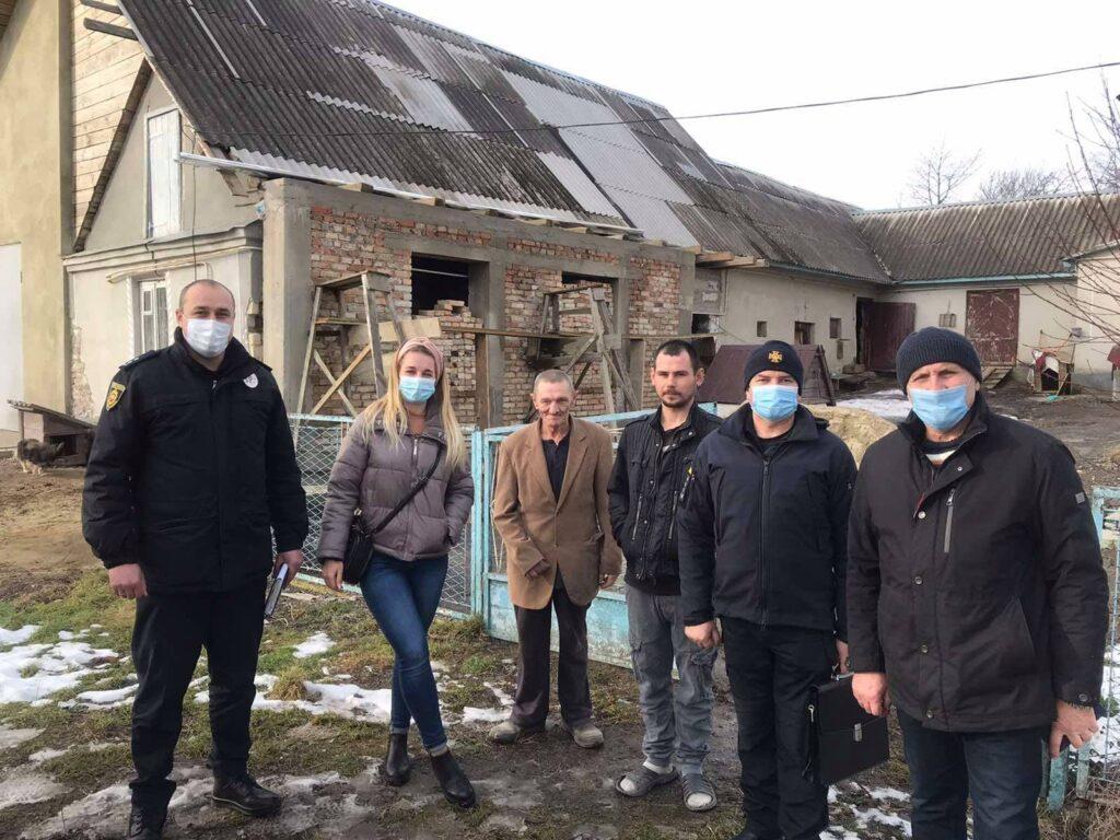 На Дубенщині почали перевіряти будинки для літніх людей