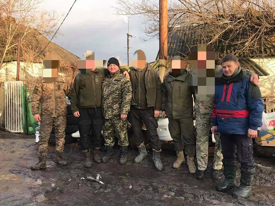 Дубенські волонтери допомагали бійцям у зоні ООС (ФОТО)