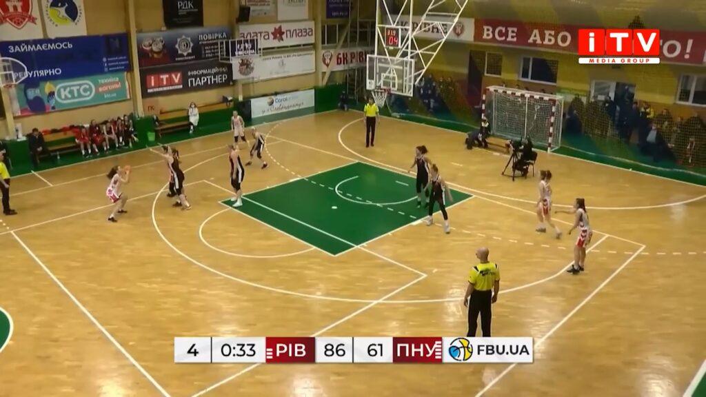 БК «Рівне» здобула дві перемоги у матчах з БК «Франківськ-ПНУ» (ВІДЕО)