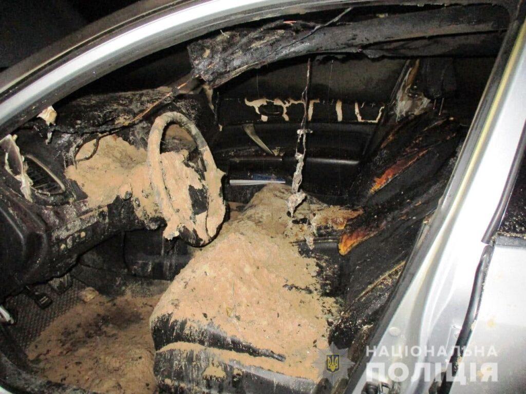 На Сарненщині невідомі підпалили авто