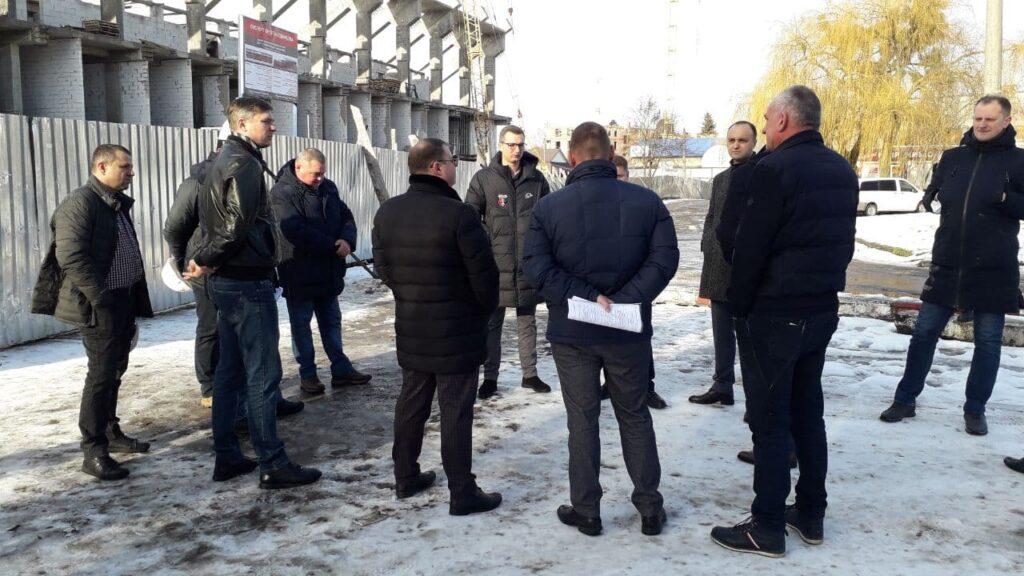 У Рівному інспектують стадіон «Авангард» (ФОТО)