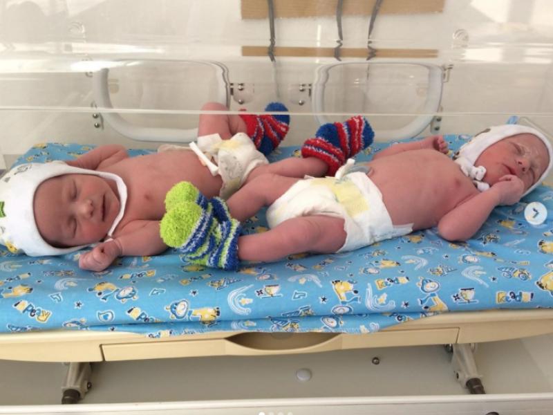 У пологовому в Сарнах народилась перша двійня