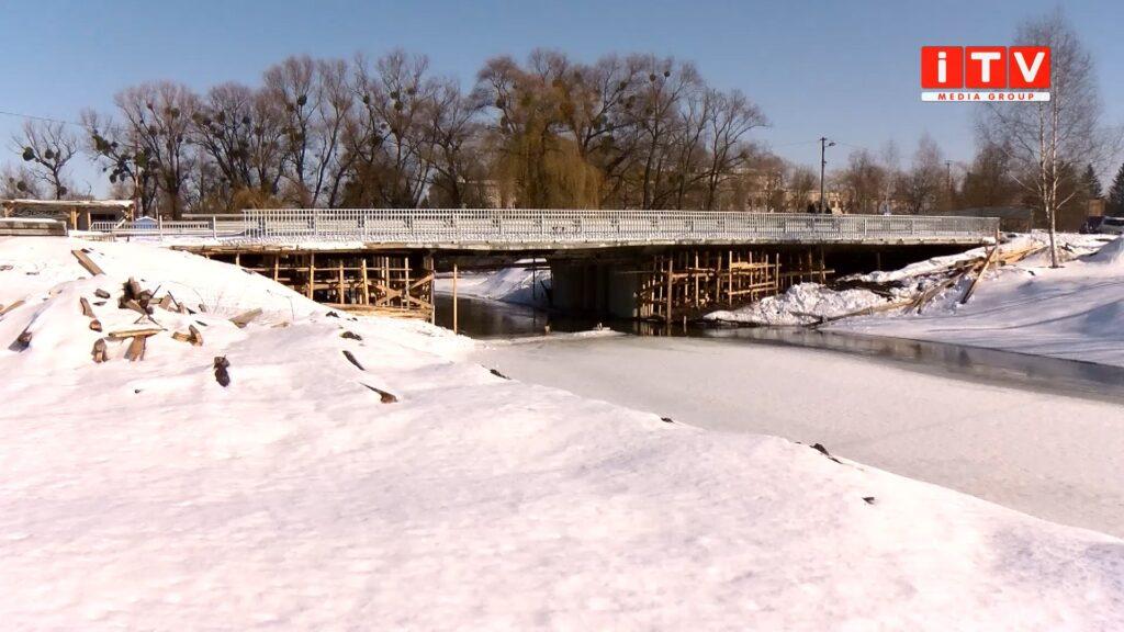 Коли відновлять ремонт мосту у Дубні (ВІДЕО)
