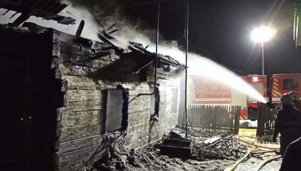 Під час пожежі на Сарненщині загинув чоловік