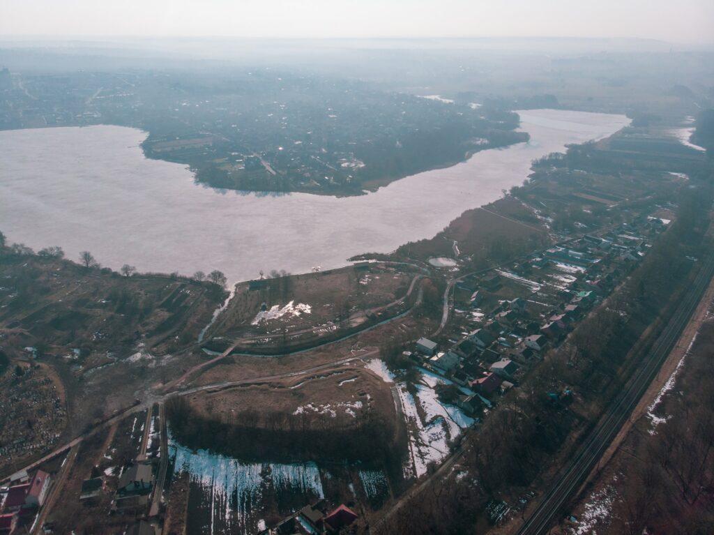 Парк Городище Оствиця зняли з висоти (ФОТО)