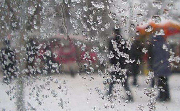 На Рівненщині прогнозують мокрий сніг та ожеледицю