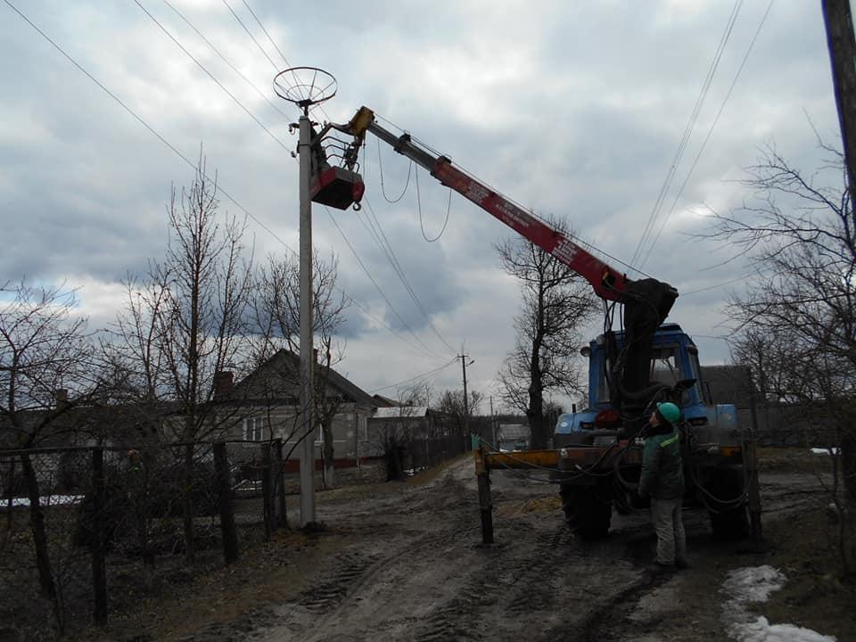 На Рівненщині облаштували каркаси для лелечих гнізд (ФОТО)