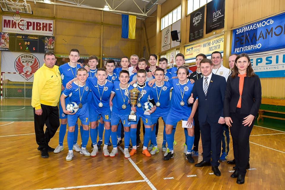 Рівненська футзальна команда – чемпіон України