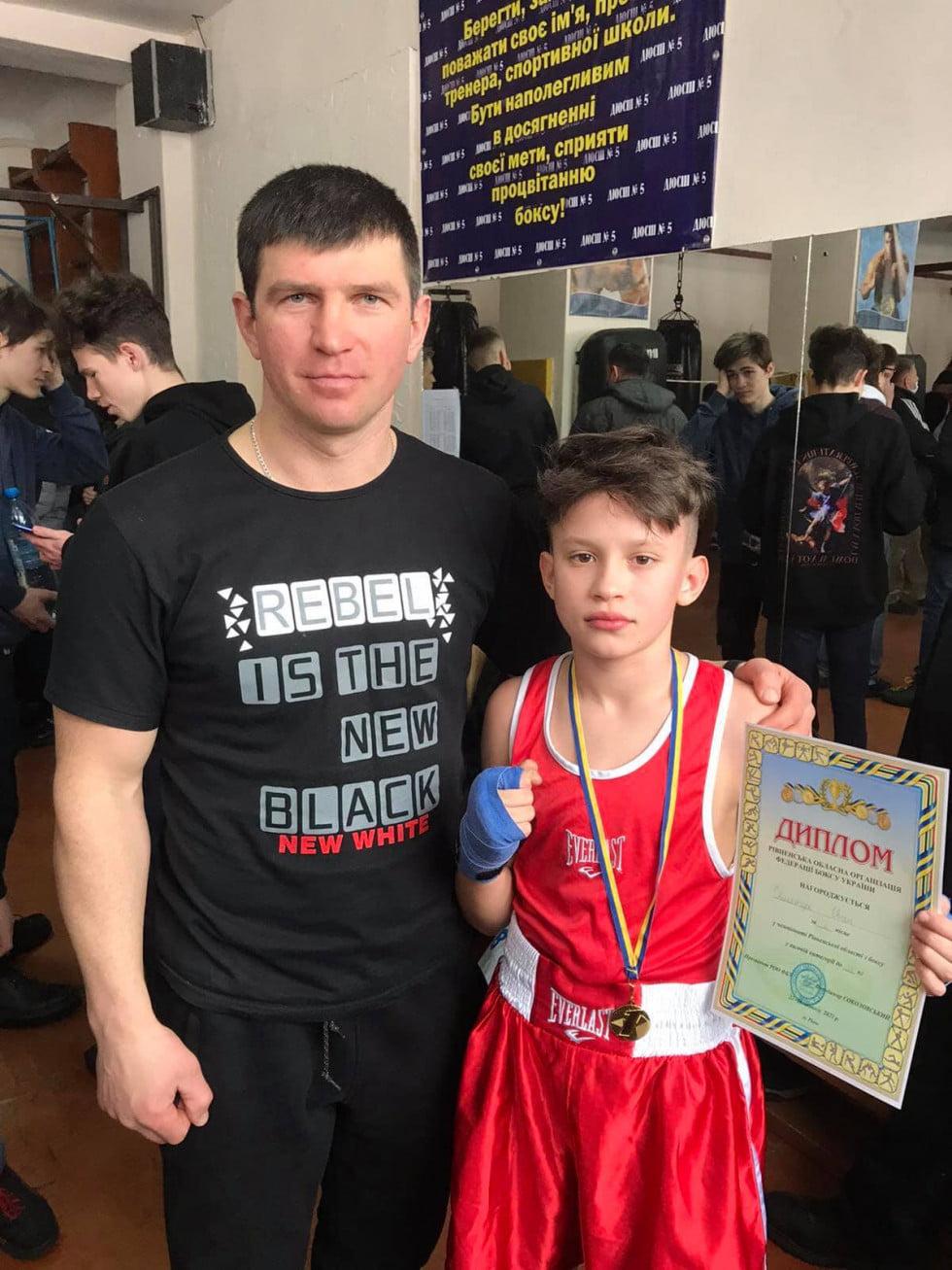 Боксери з Дубровиччини вибороли сім наголод на чемпіонаті області (ФОТО)