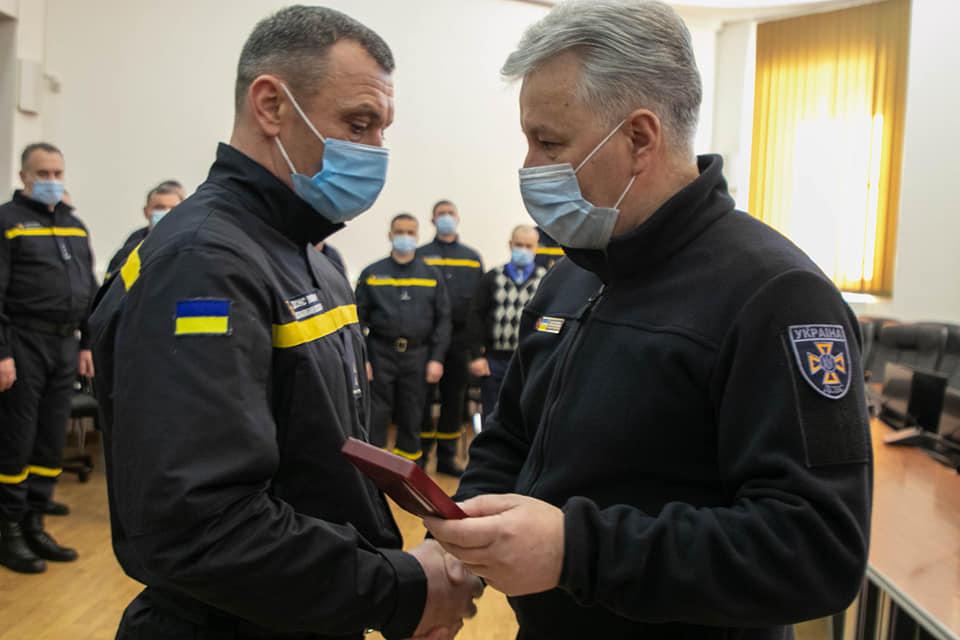 Рятувальника з Рівненщини нагородили державною нагородою