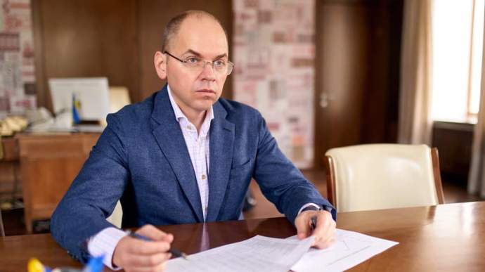 Степанов зробив щеплення від коронавірусу в прямому ефірі