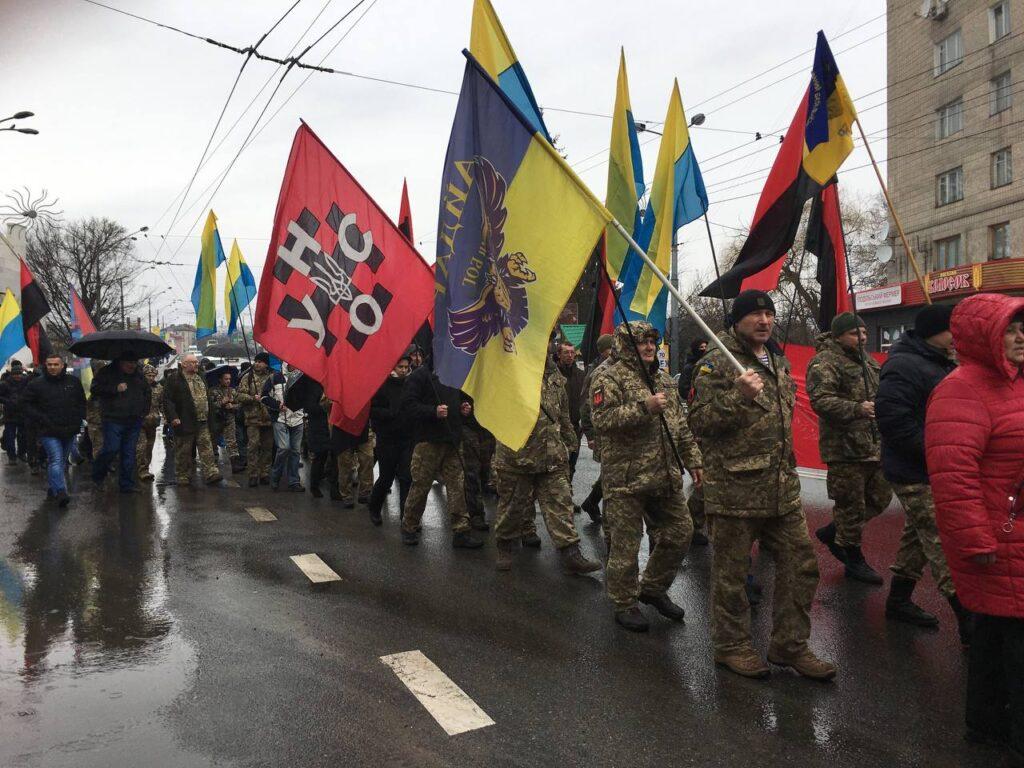 У Рівному розпочався марш добровольців (ФОТО)