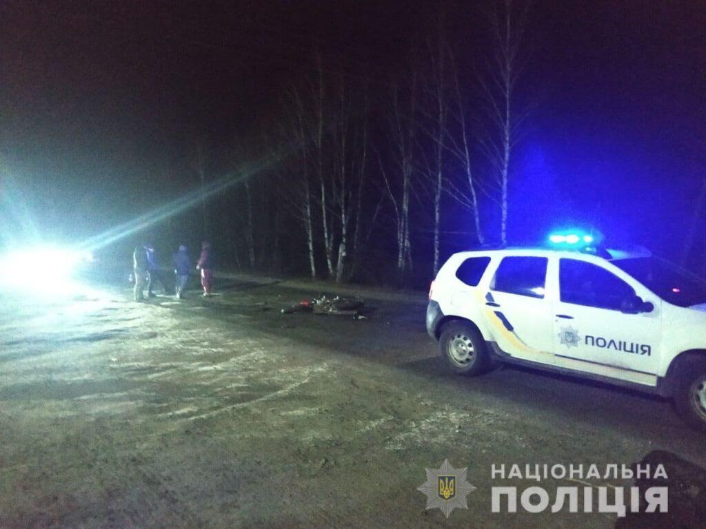 Після ДТП на Рівненщині мотоцикліст опинився у лікарні
