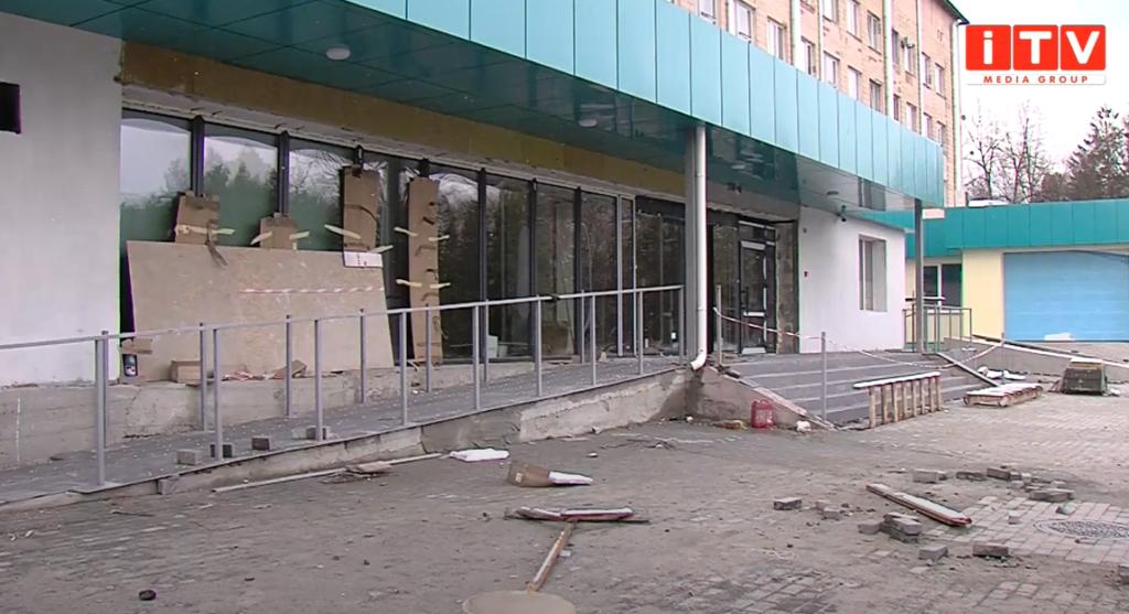 Коли добудують приймальне відділення Рівненської обласної лікарні? (ВІДЕО)