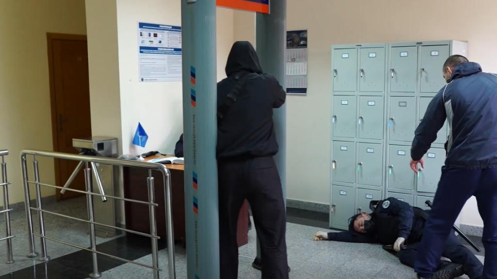 СБУ звільняють заручників – у Рівному провели антитерористичні навчання (ВІДЕО)