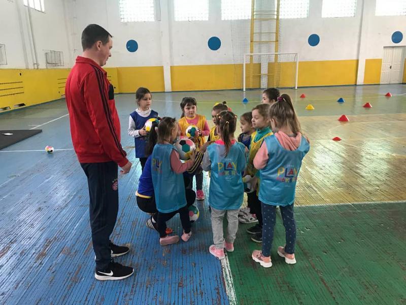У Костополі стартувала програма UEFA Playmakers