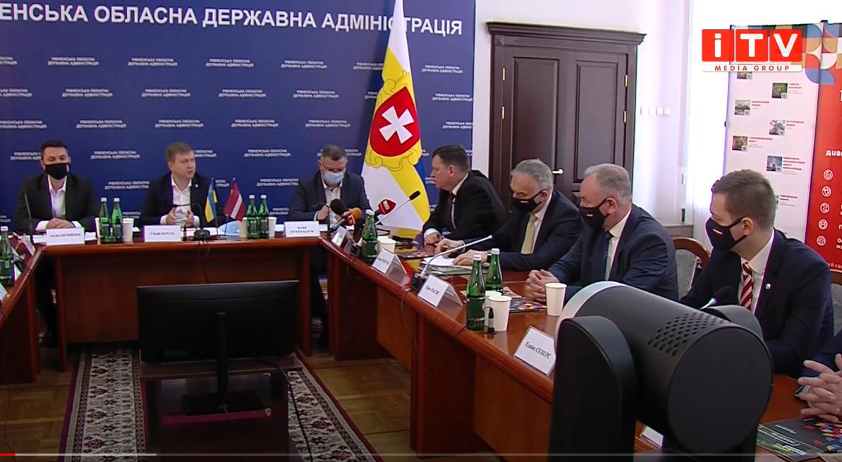 Рівненщина шукає шляхи співпраці з Латвією (ВІДЕО)