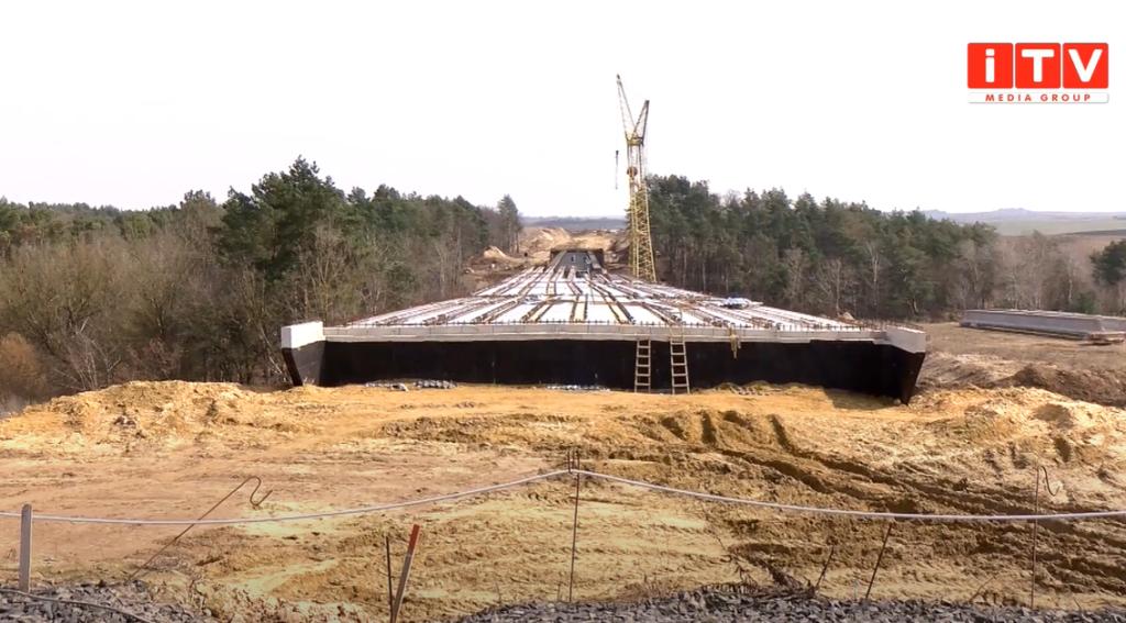 Що побудували за рік роботи над Північним обходом міста Рівне (ВІДЕО)