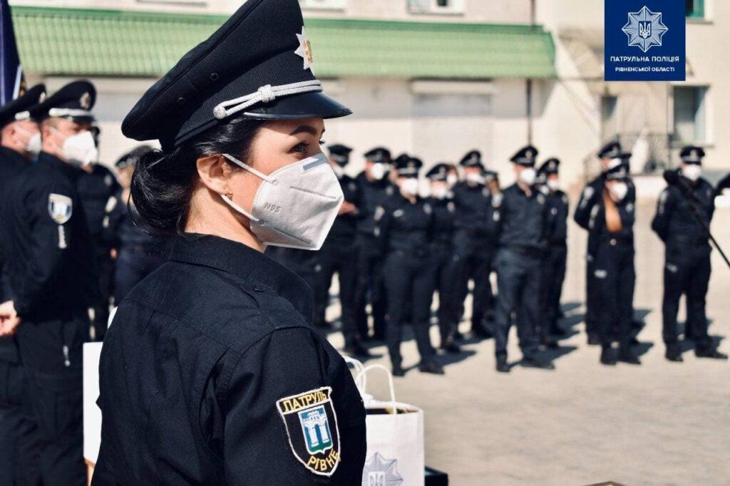 Патрульна поліція Рівного відзначає ювілей (ФОТО)