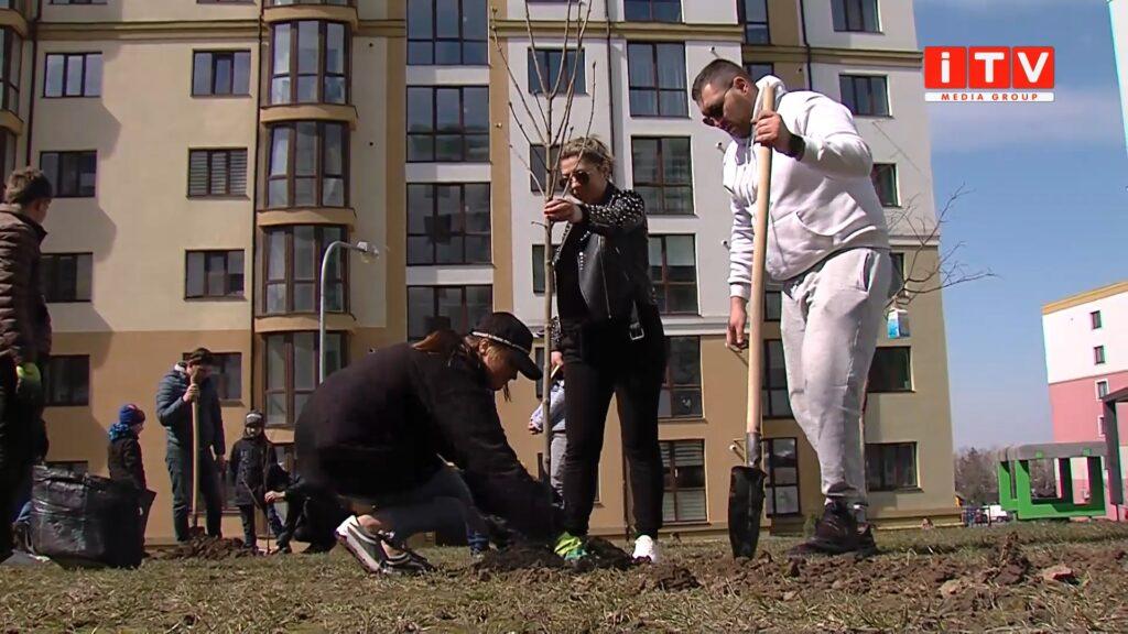 ЖК «На Щасливому» долучився до Всеукраїнської акції з озеленення (ВІДЕО)