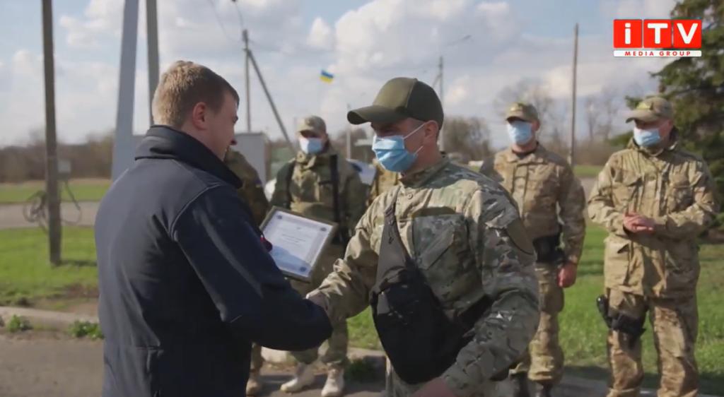Делегація від Рівненщини відвідала рівненських військових на українському Донбасі (ВІДЕО)
