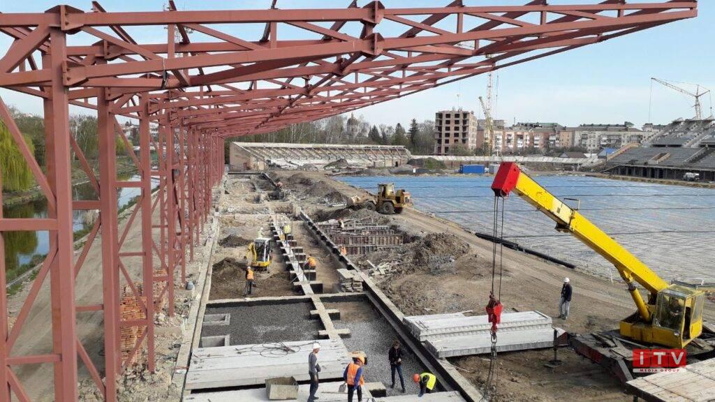 Реконструкція Авангарду триває: що вже зробили та що у планах (ФОТО)