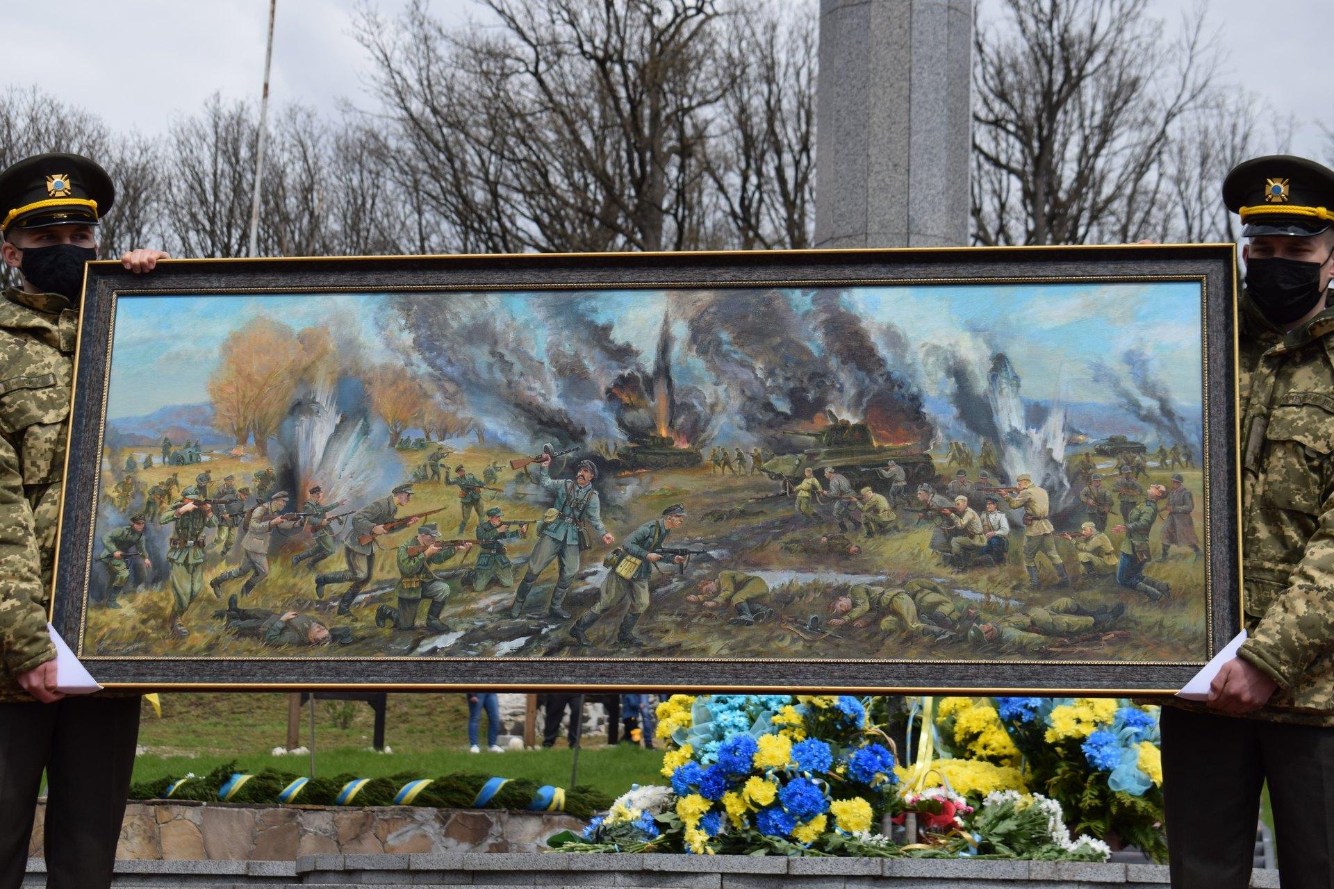 Музей на Рівненщині отримав унікальну картину від київських художників