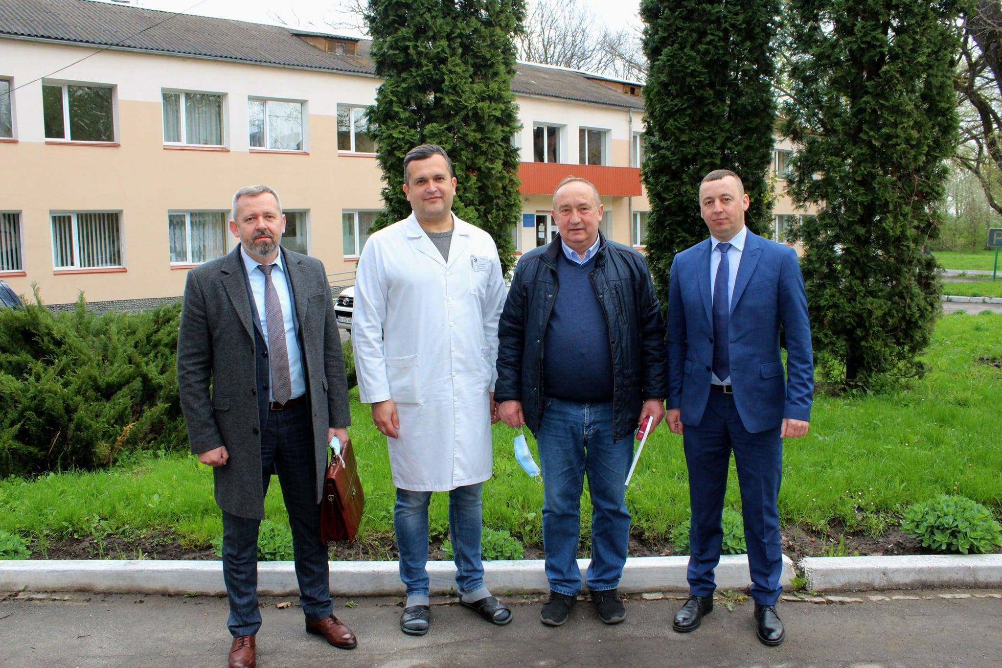 У громаді на Рівненщині провели акцію «Подякуй лікарю»