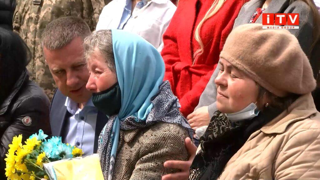 У Рівному привітали матерів загиблих військових (ВІДЕО)