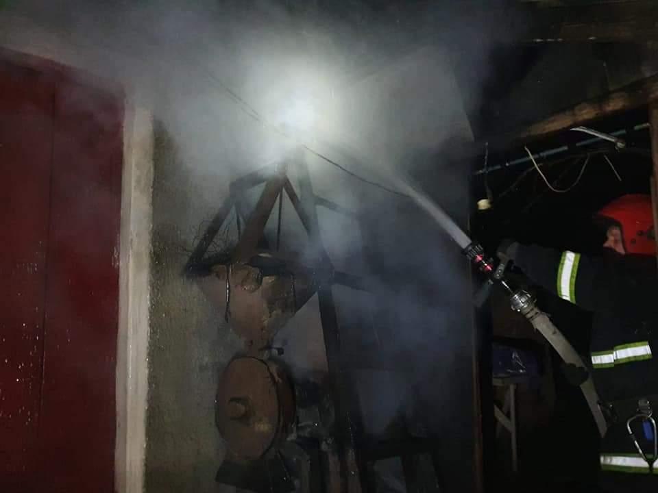 Вогнеборці ліквідували пожежу на Рівненщині