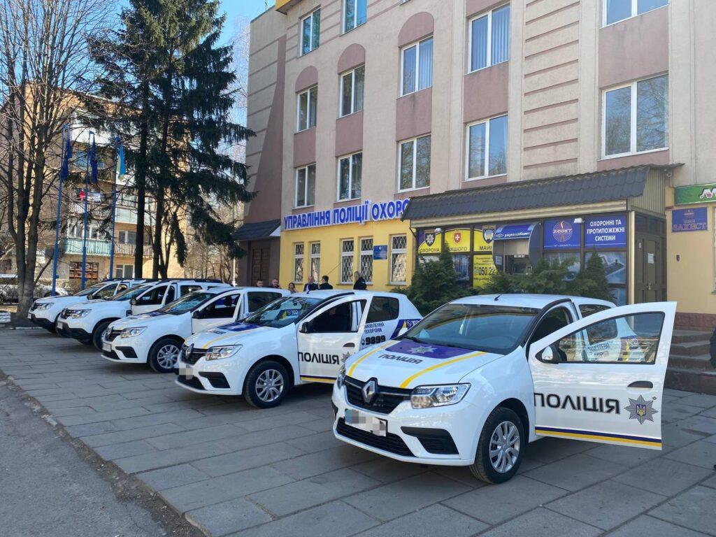 Автопарк рівненських поліцейських охорони поповнився новим транспортом