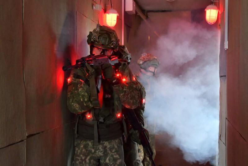 Перший в Україні військовий навчально-тренувальний комплекс (ВІДЕО)