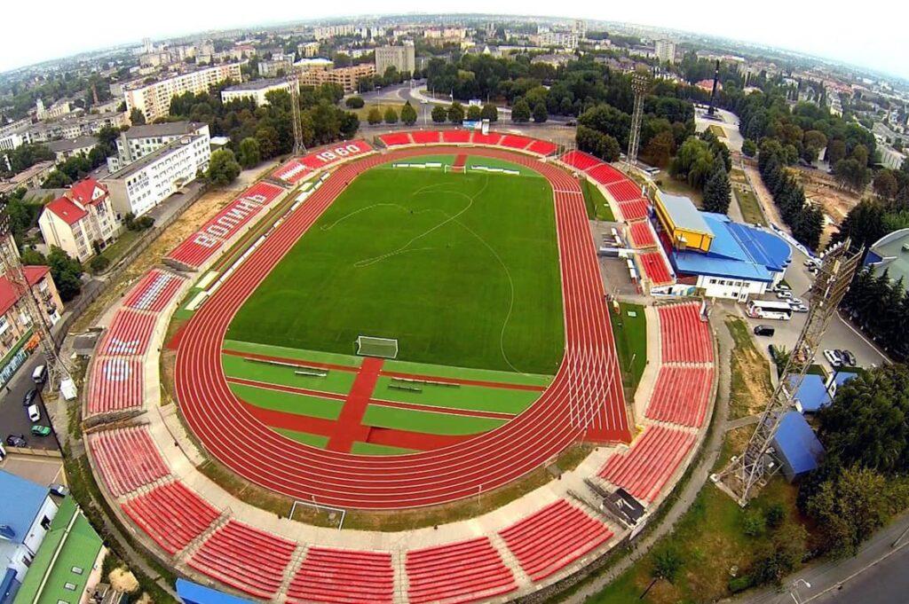 """Рівненський """"Верес"""" заявив три арени для виступів в УПЛ"""