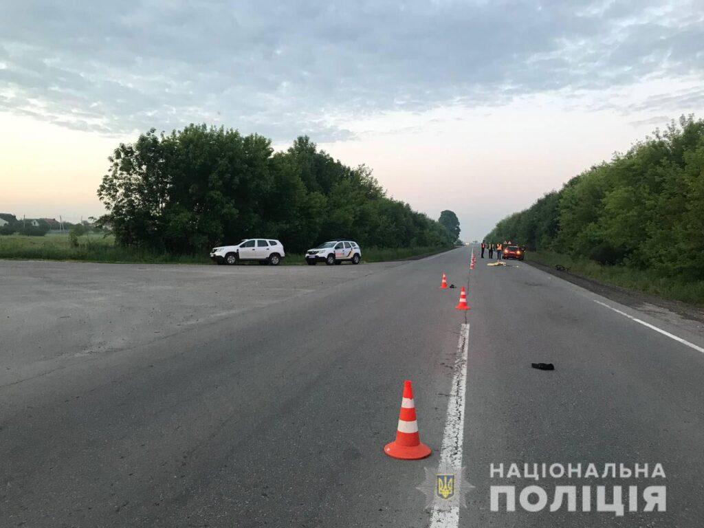 Поліцейські встановили особу загиблого у ДТП біля Рівного велосипедиста