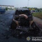 Ймовірний злочинець тікав у поле: рівнянину підпалили позашляховик