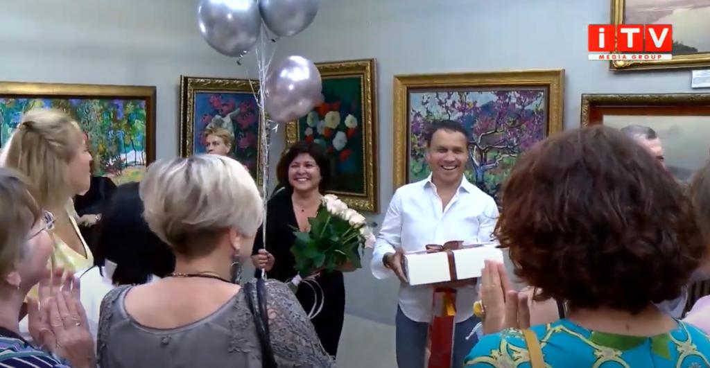 Центр європейського живопису у Рівному відзначив перший ювілей (ВІДЕО)
