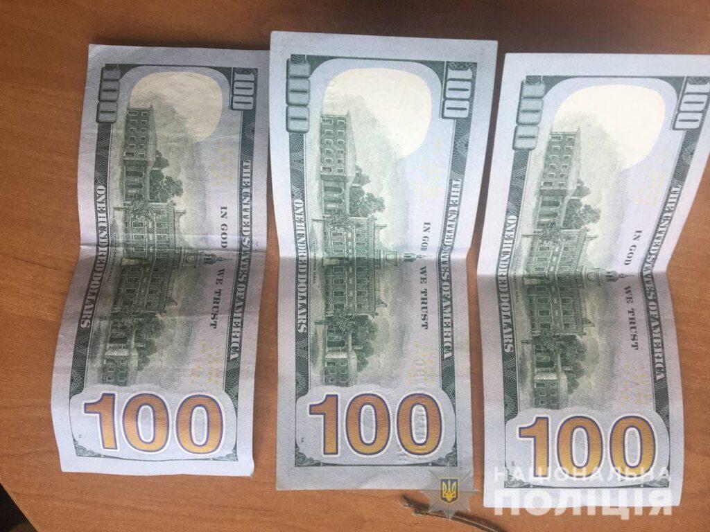 Волинянин на Рівненщині намагався за 300 доларів підкупити поліцейських